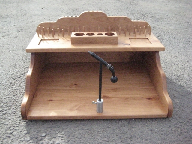 Homemade Fly Tying Bench,Wooden Aircraft Hangar Plans,Wooden Jewellery ...